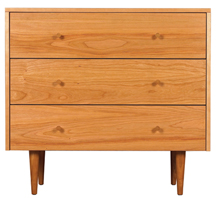 Asher three drawer dresser