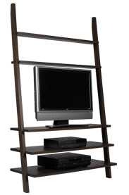 new leaning TV stand