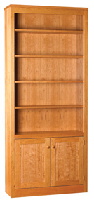 84 inch bookcases